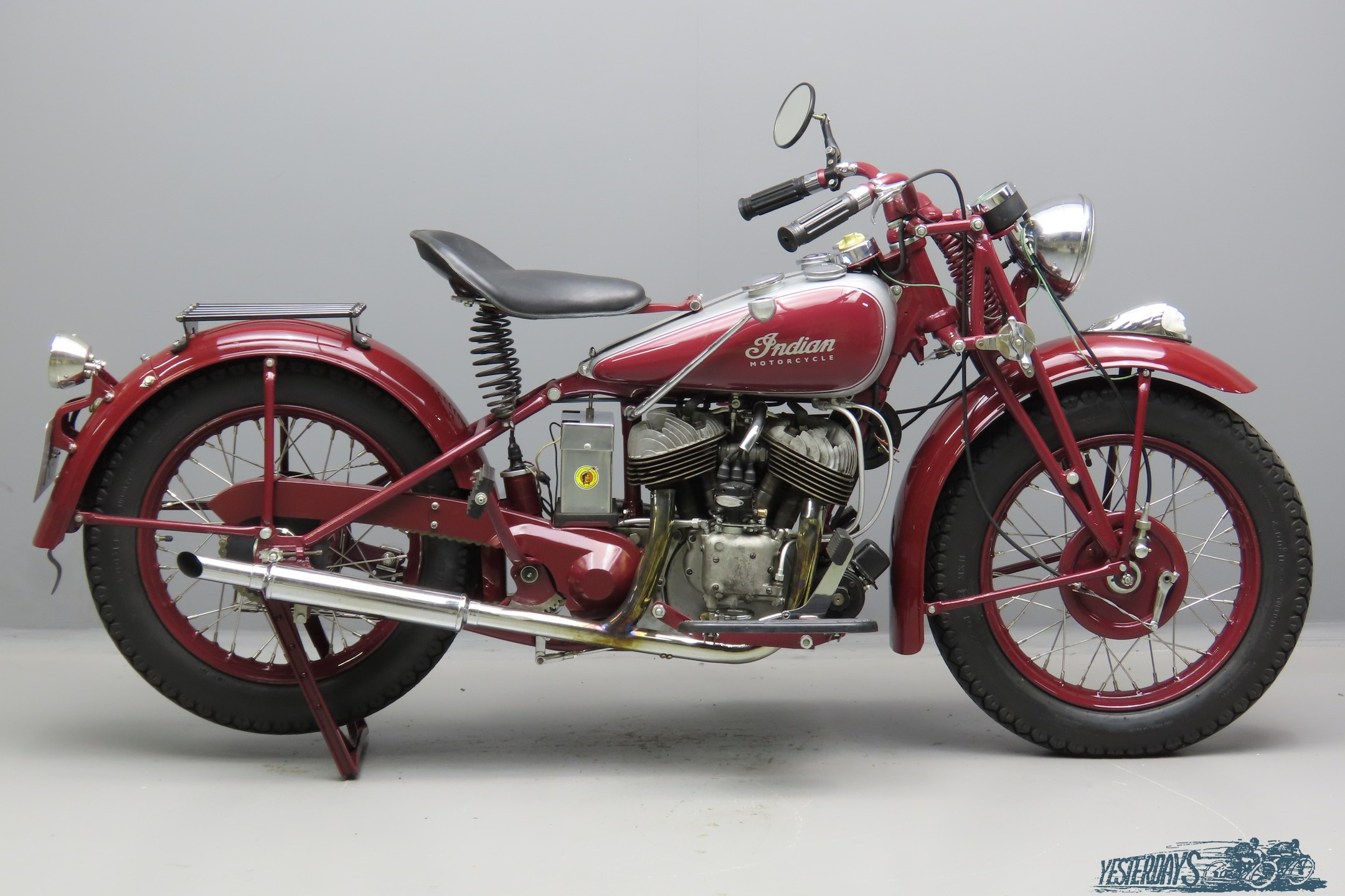 Indian 1941 Scout 741B 500cc 2 cyl sv  3009