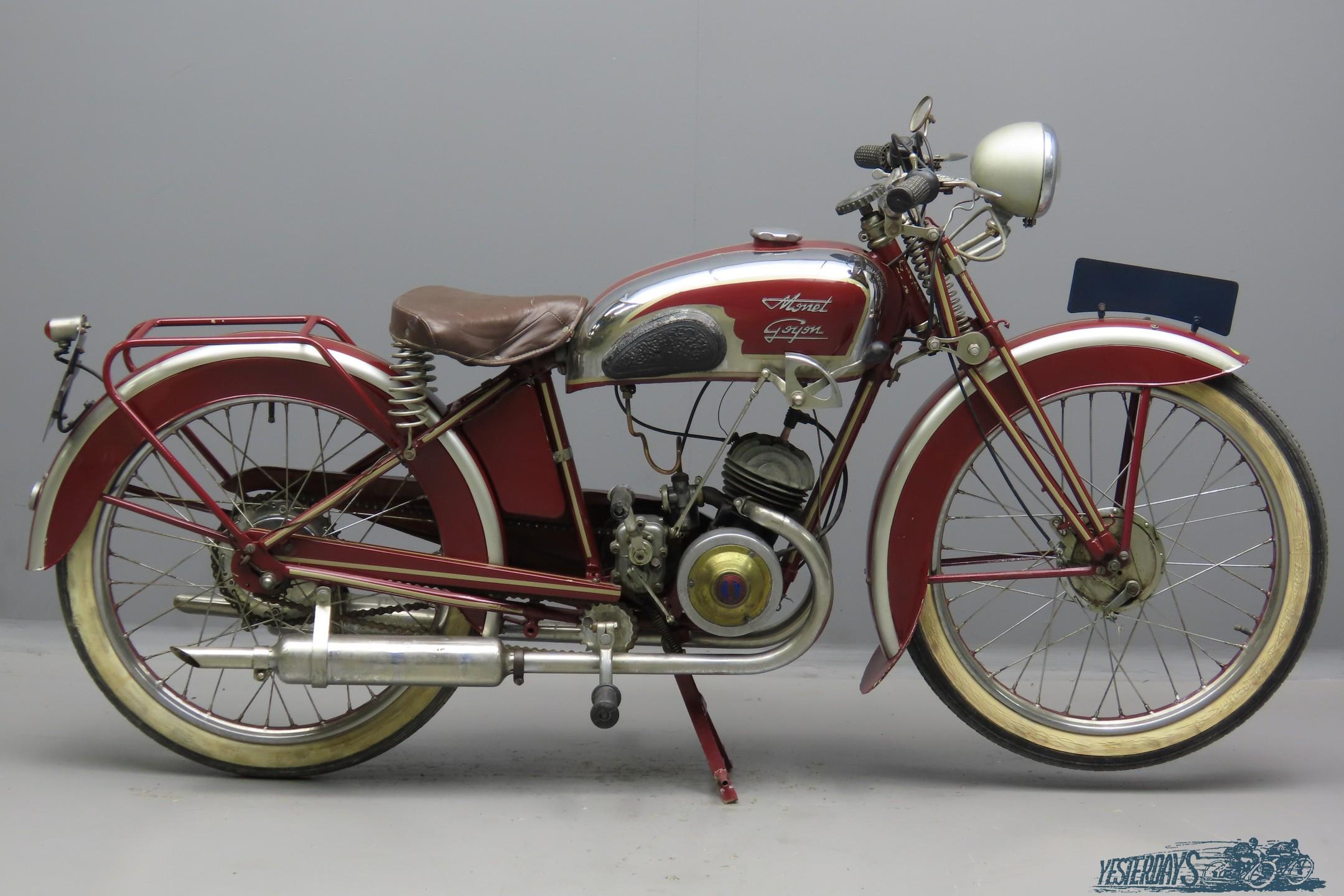 Monet & Goyon 1937 S3  98cc 1 cyl ts  3009