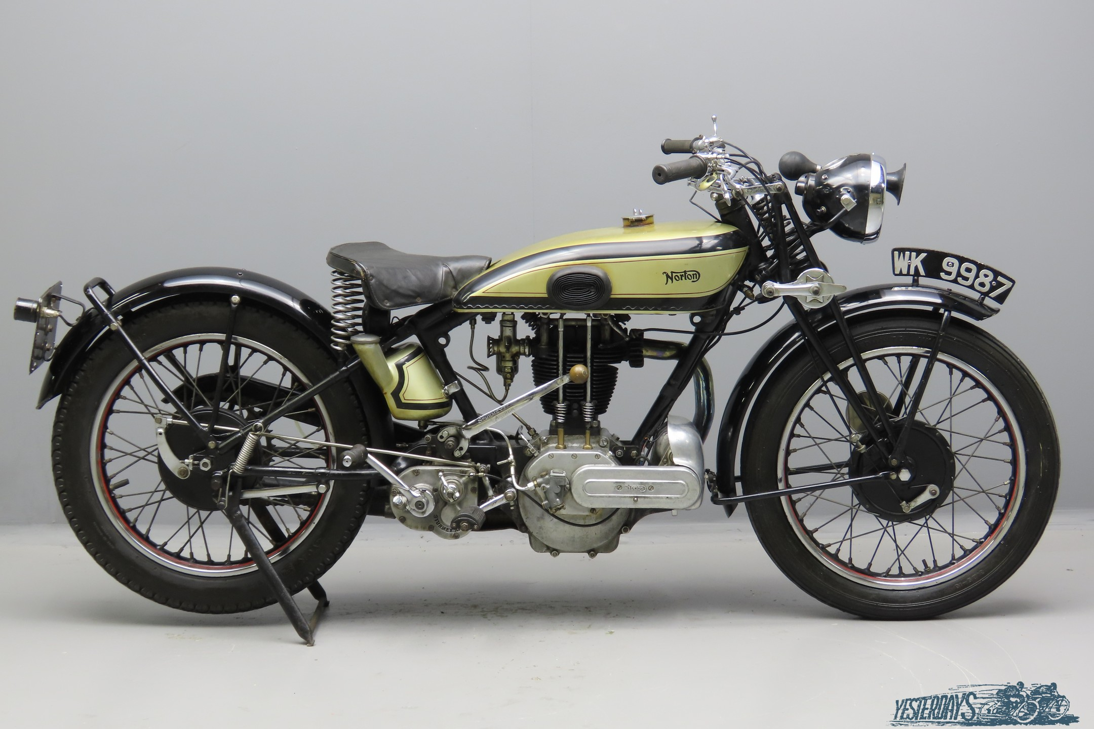 Norton 1929 Model 18 490cc 1 cyl ohv  3009