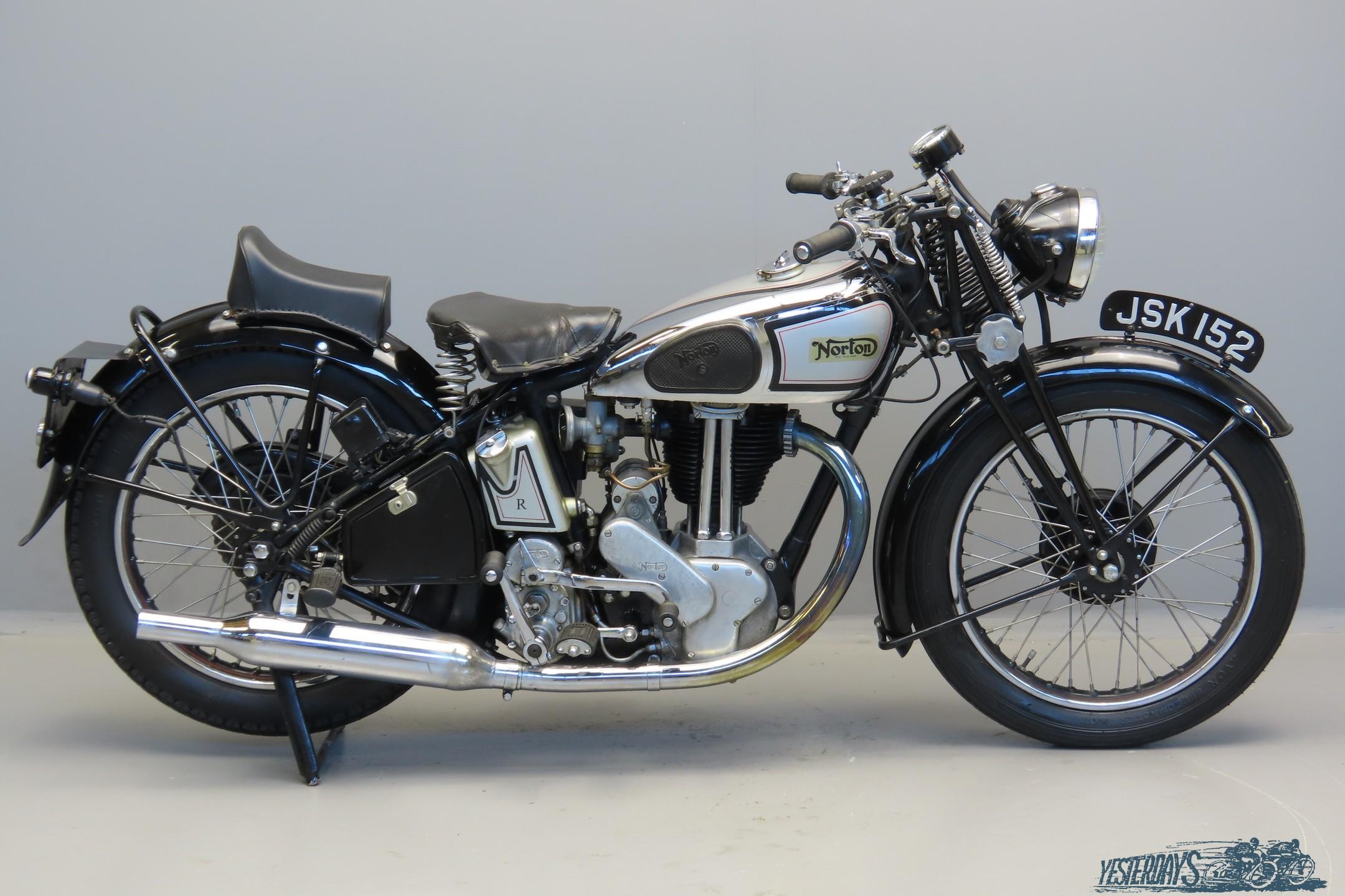 Norton 1938 Model 50 350cc 1 cyl ohv 3009