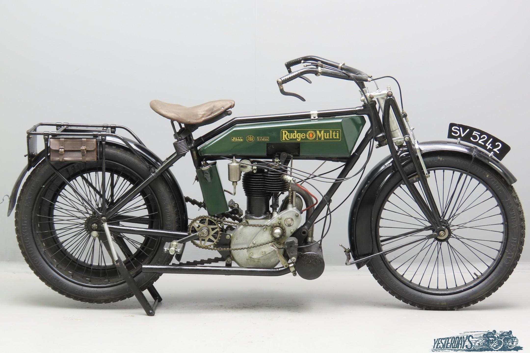 Rudge 1920 Multi 499cc 1 cyl ioe  3009