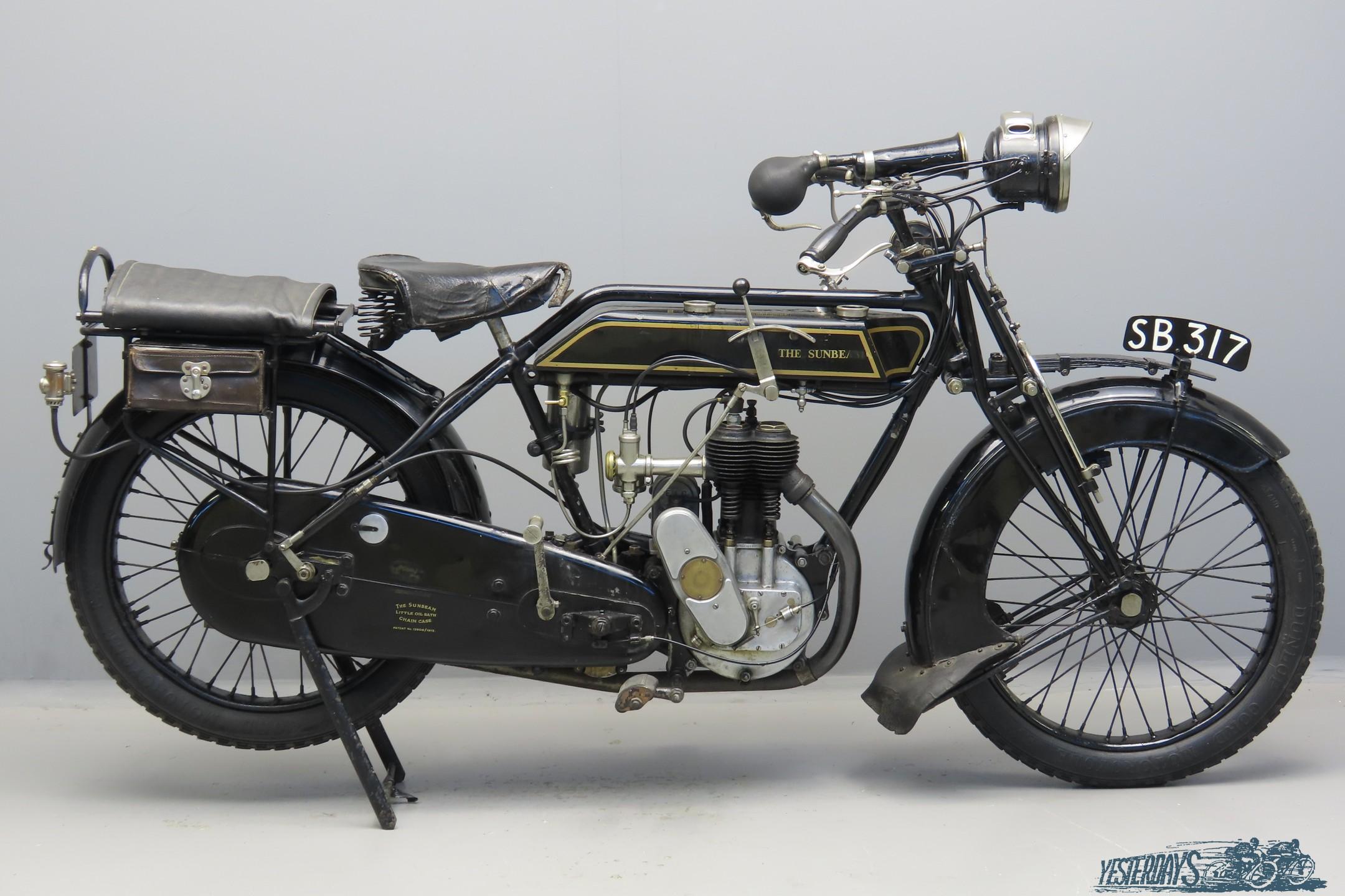 Sunbeam 1920 3½hp 499cc 1 cyl sv 3009