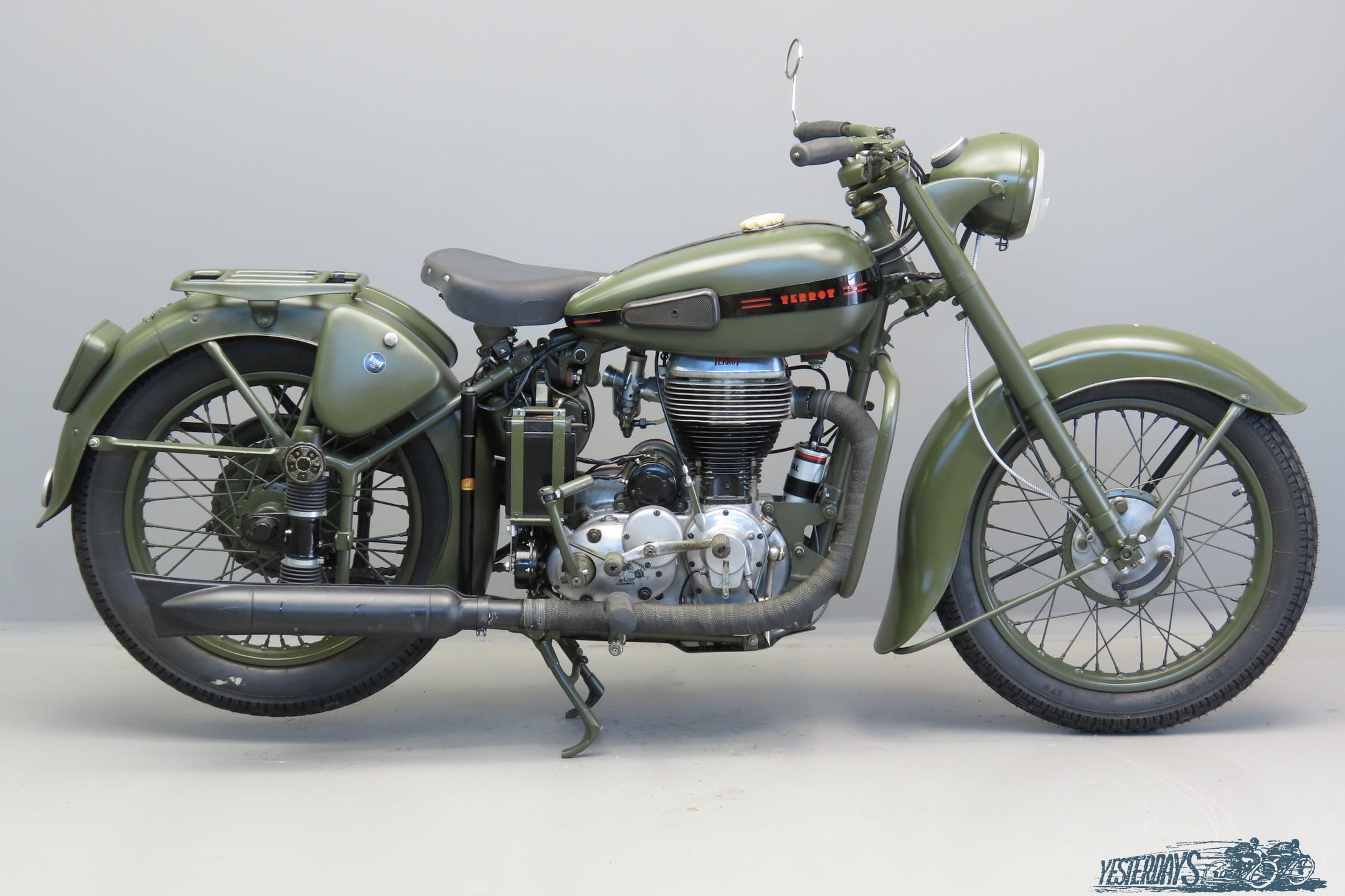 Terrot 1953 RGST-A 500cc 1 cyl ohv  3009