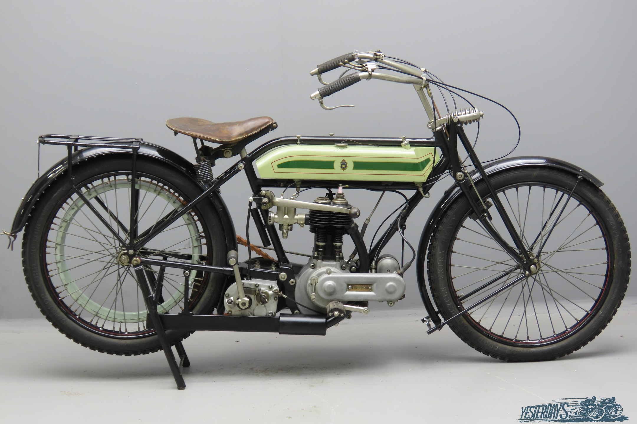 Triumph 1919 Model H 549cc 1 cyl sv  3009