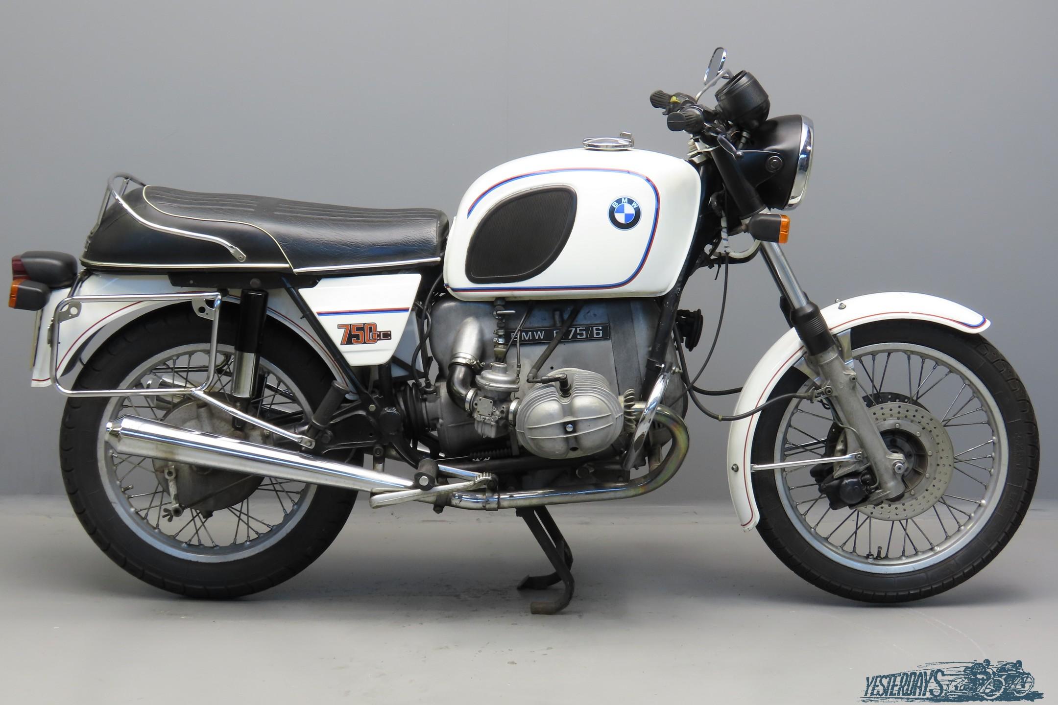 BMW 1975 R75/6 745cc 2 cyl ohv  3010