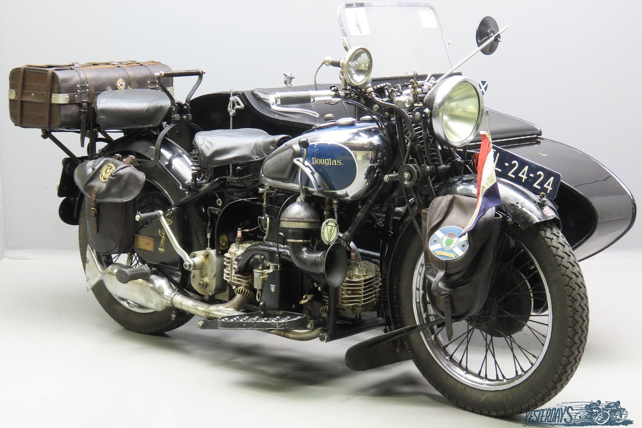 Douglas 1934 Z1 Powerflow 744cc 2 cyl sv  3010