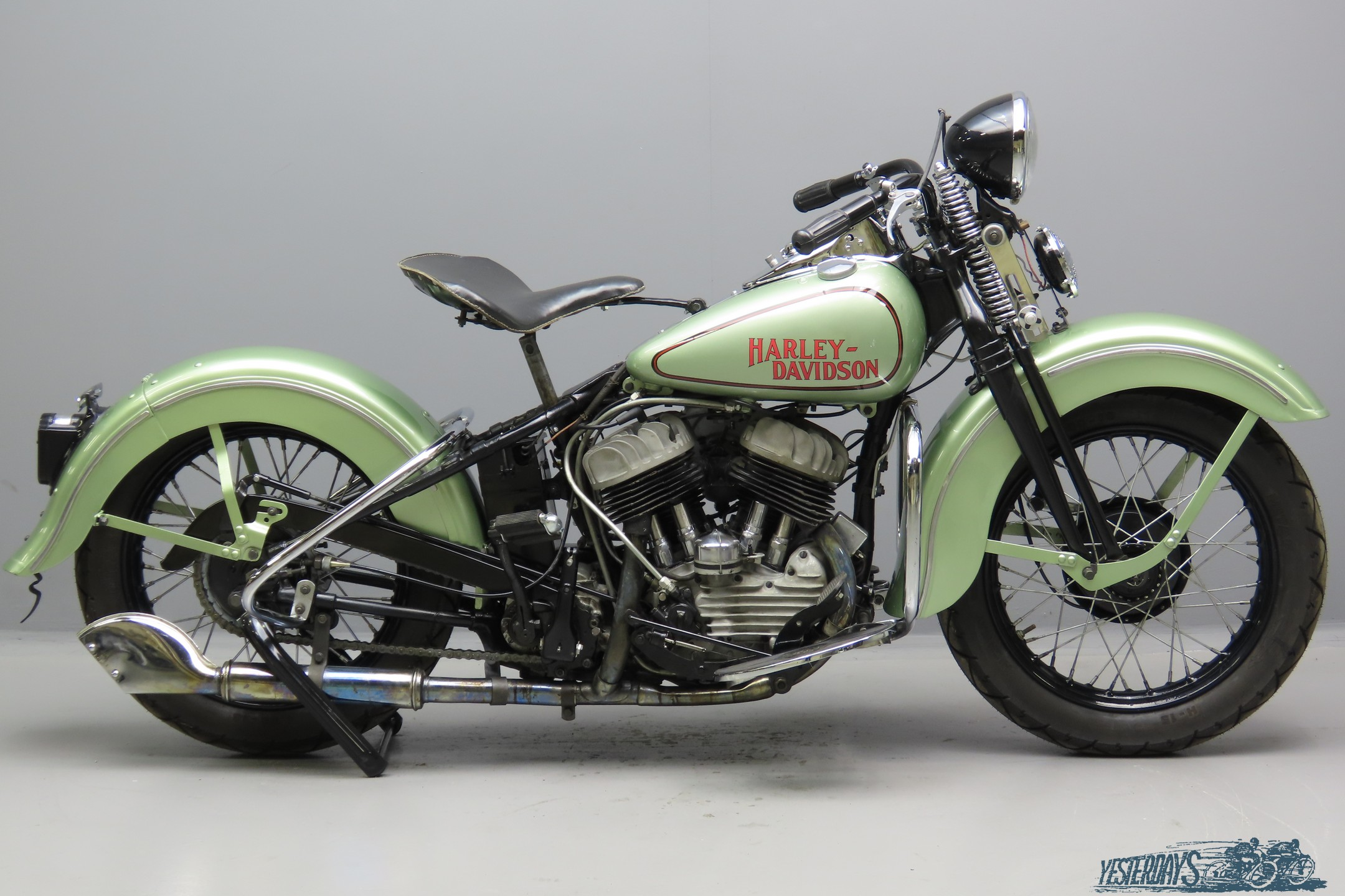 Harley-Davidson 1943 WLC 750cc 2 cyl sv  3010