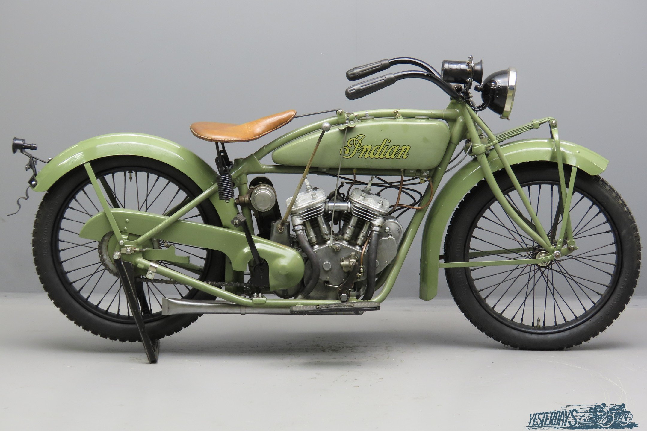 Indian 1925 Scout 600cc 2 cyl sv  3010