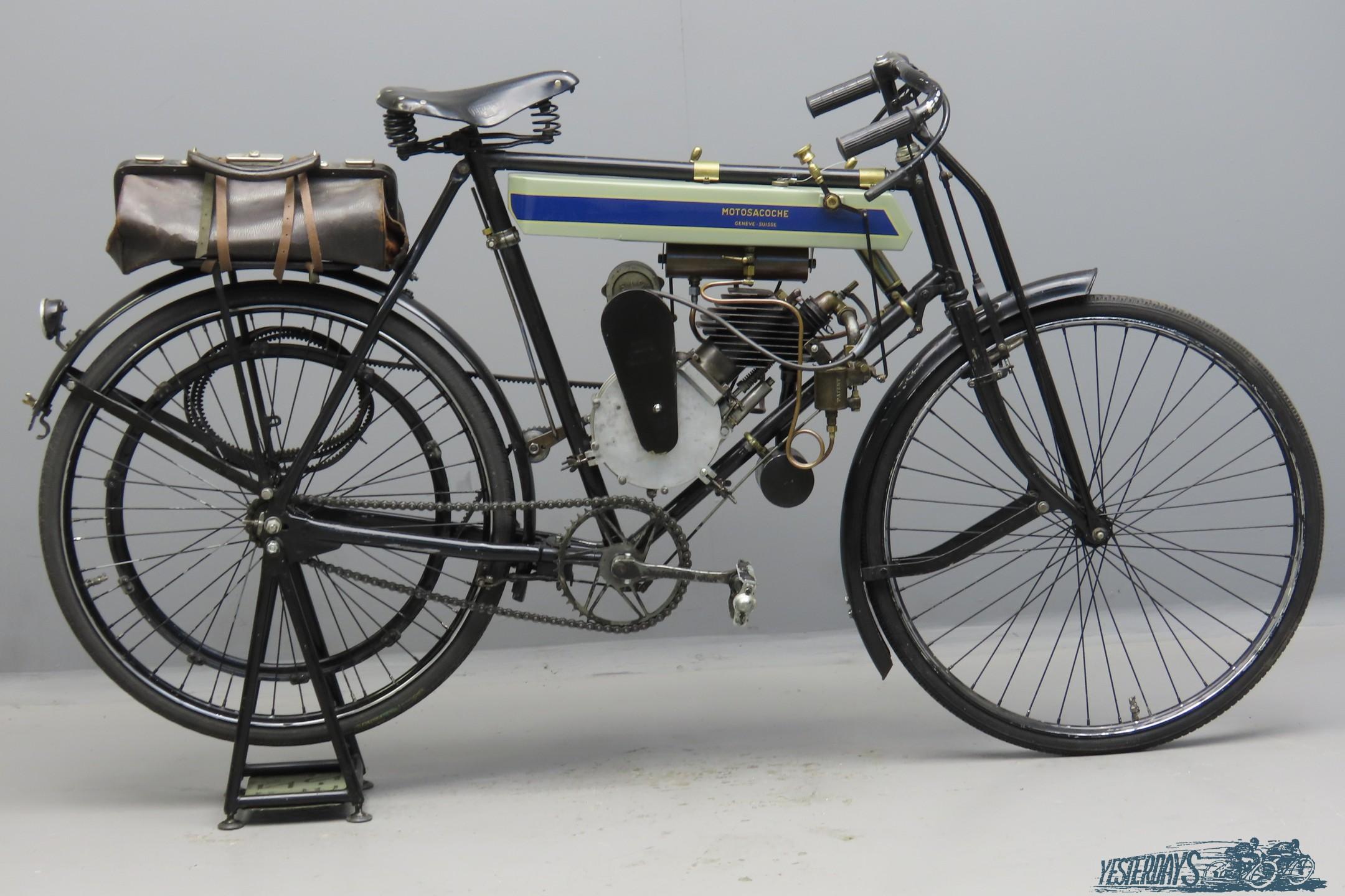 Motosacoche 1905 A1 212cc 1 cyl aiv  3010