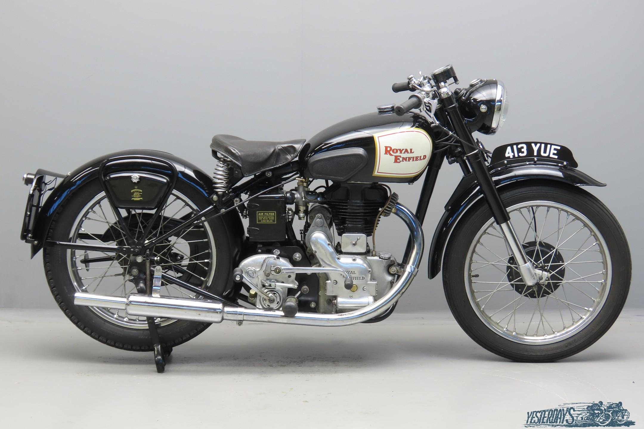Royal Enfield 1949 Model G 346cc 1 cyl sv 3010