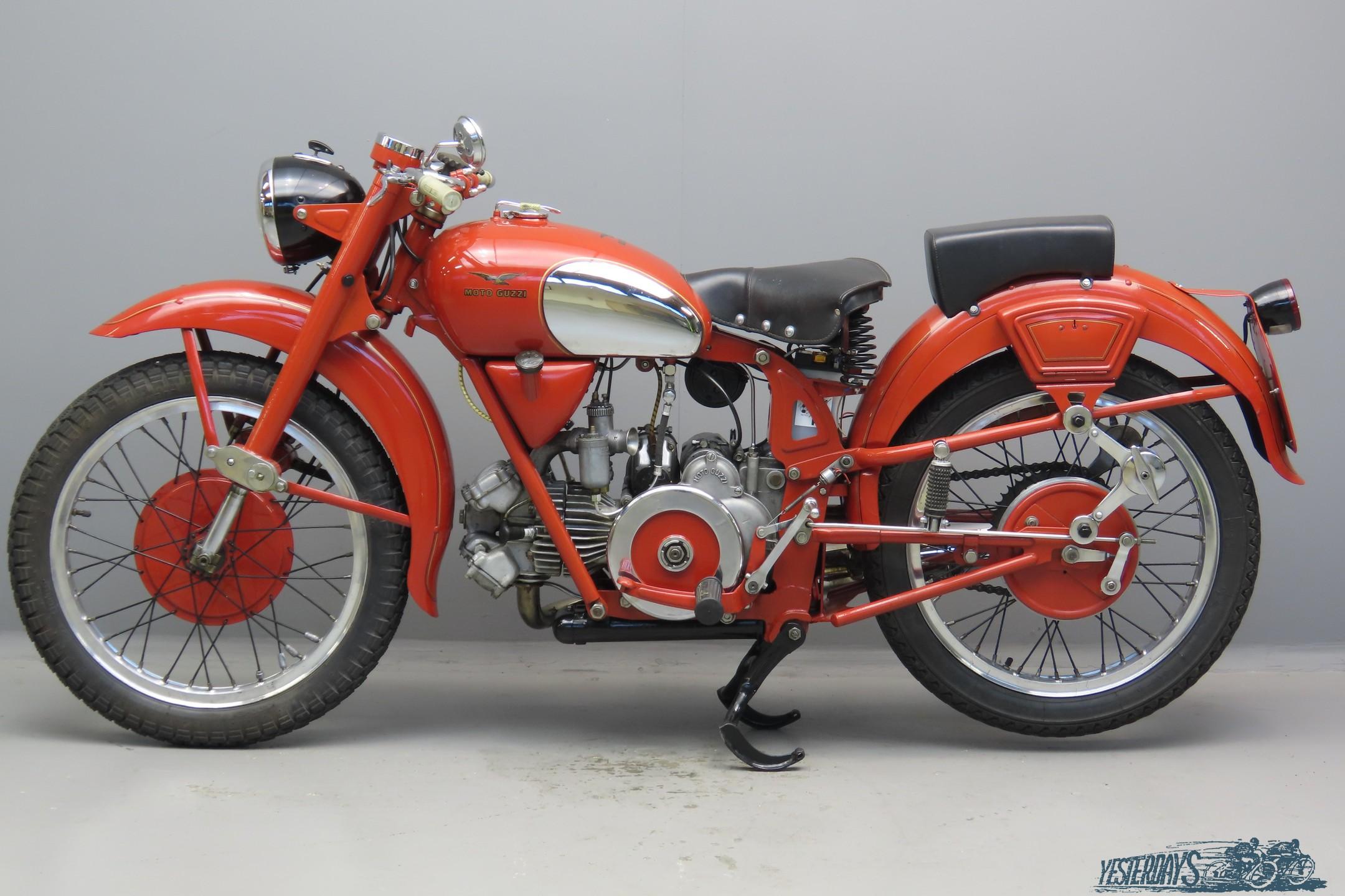 RM Sothebys - 1956 Moto Guzzi Falcone Sport | London 2011